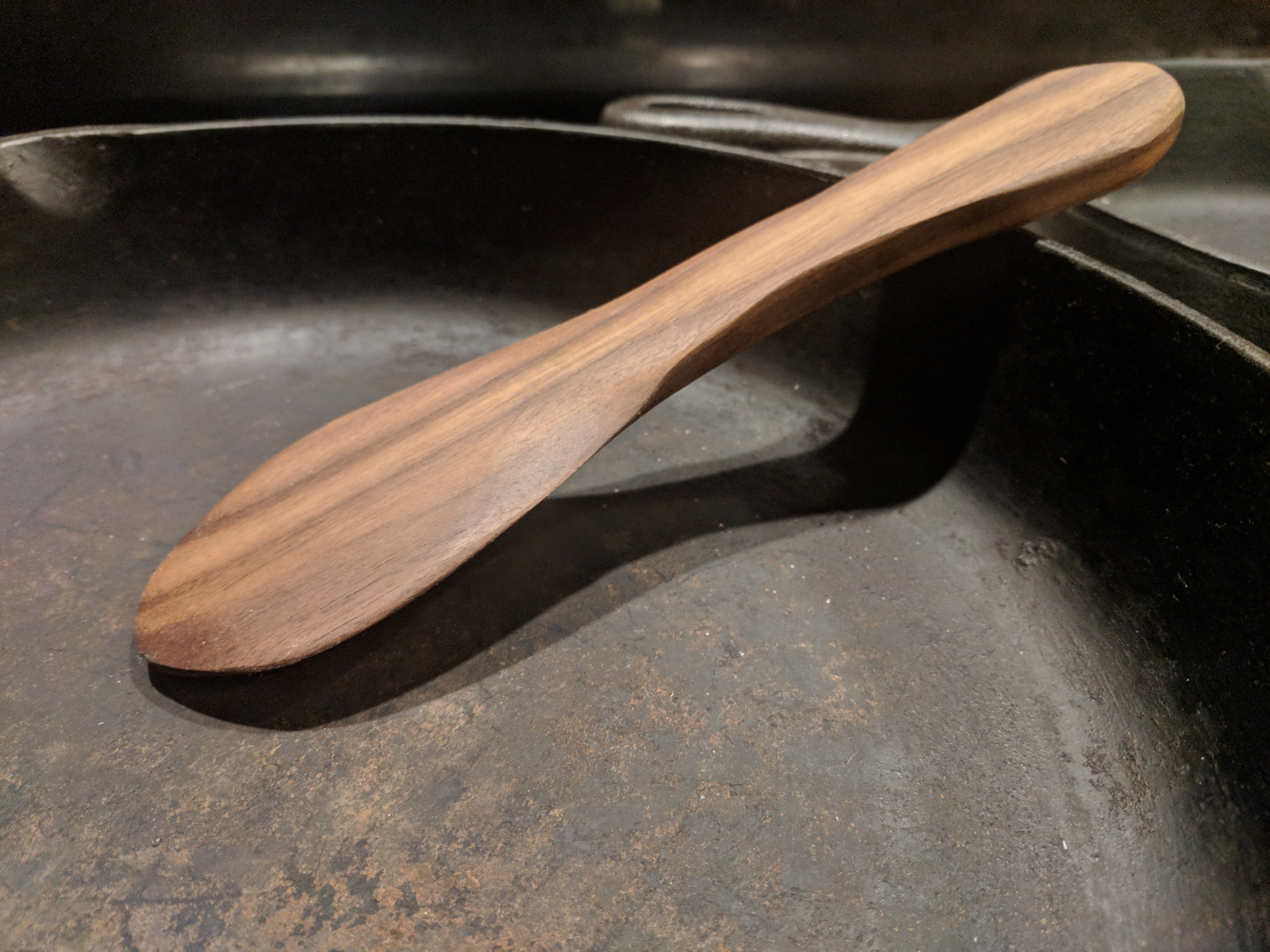 wood saute spoon