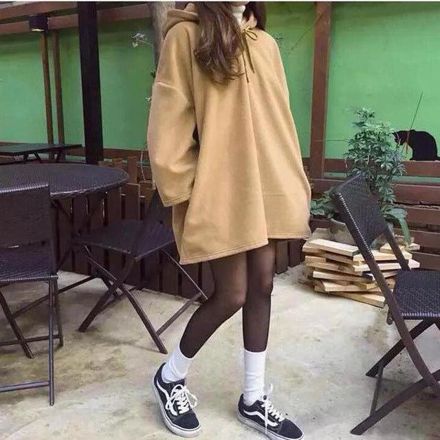 Oversized-to-style Hooded Hoodie