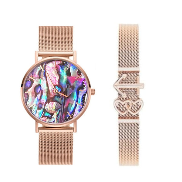 Islander Pearly Fantasy Watch (With Bracelet)