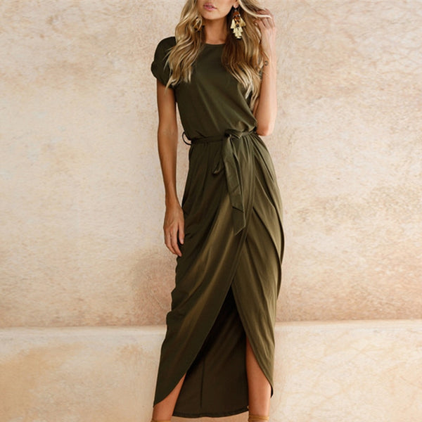 Pleated-to-style Midi Dress