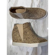 Lue Natural heeled sneaker
