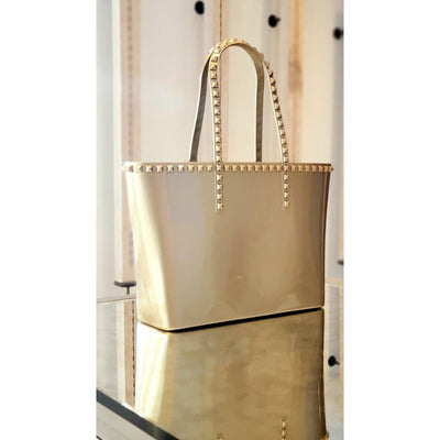 Seba Medium Tote - Metallic