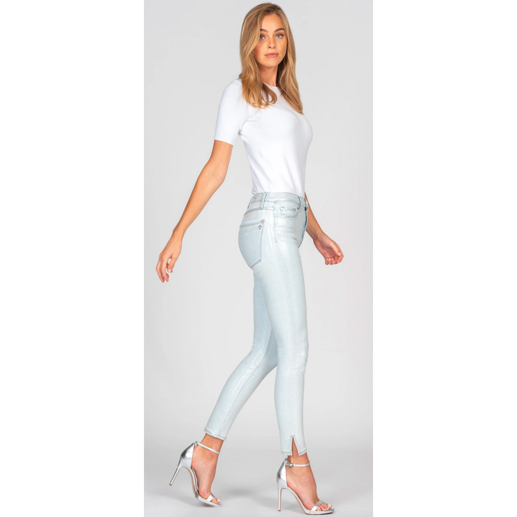Shinny Foil Light Denim