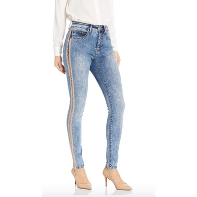 Alex MBD High Rise Skinny with Copper Lining
