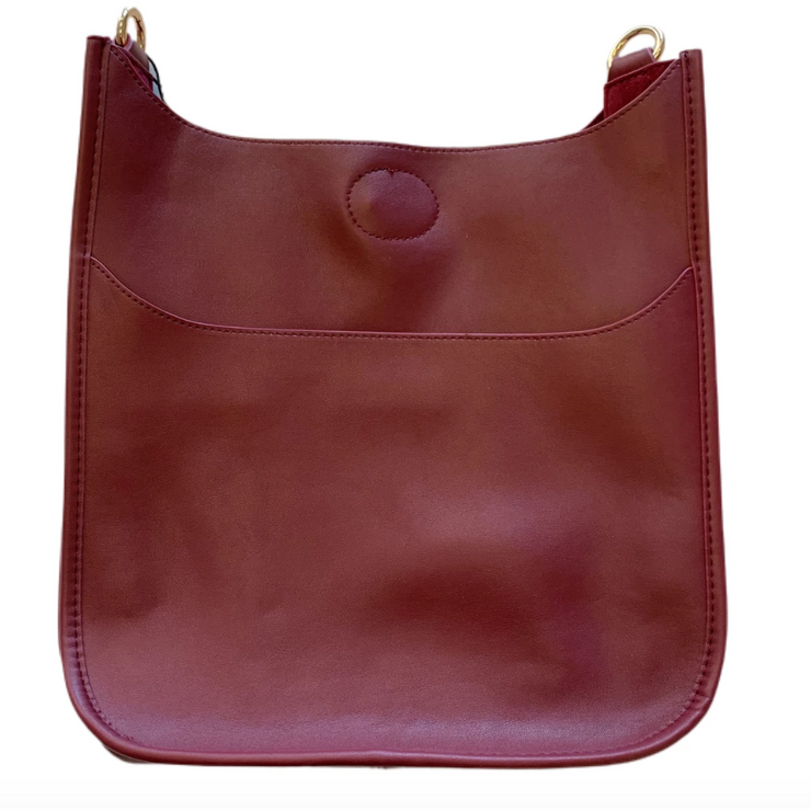 Mini Soft Faux Leather Classic Messenger