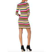 Fun Fridays Stripped Mini Dress