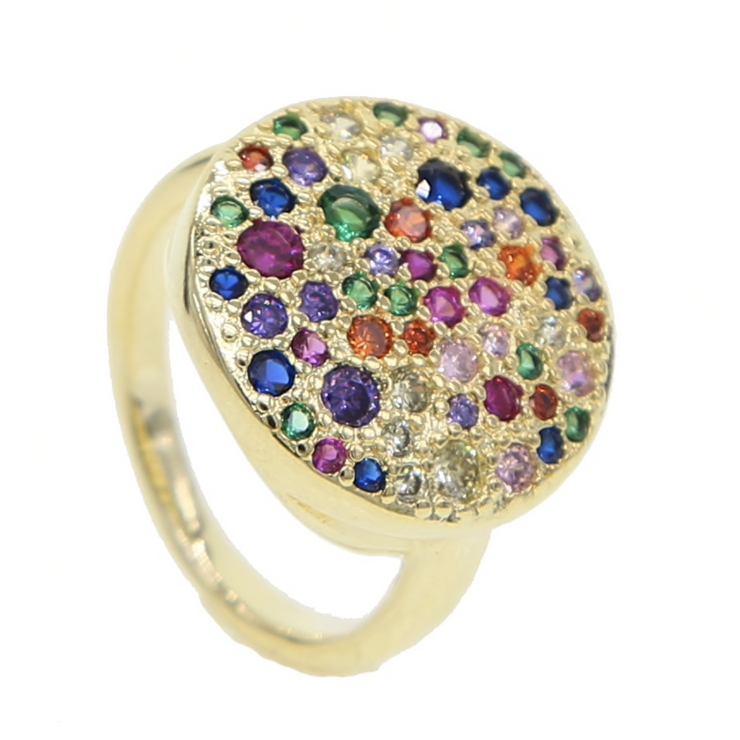 Mosaic Pave Ring