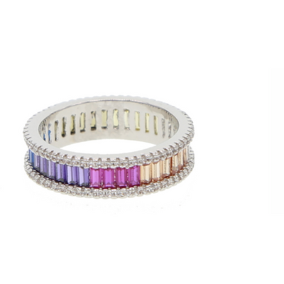 JT- Ombre Rainbow RIng