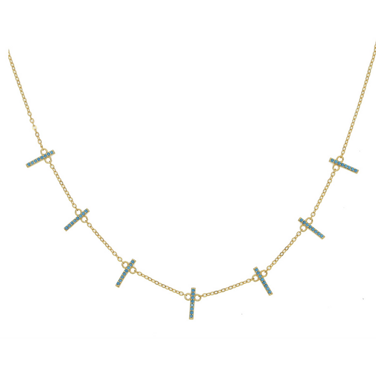 Turquoise Pave Bar