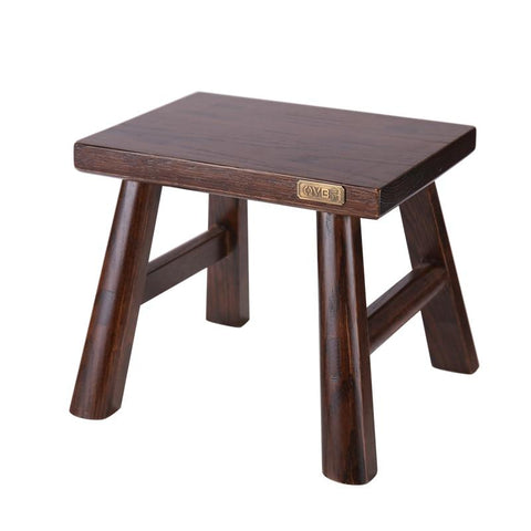 Solid Wood Step Furniture Footstool