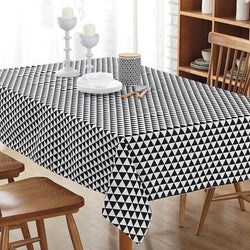 Cotton Vintage Waterproof Tablecloth