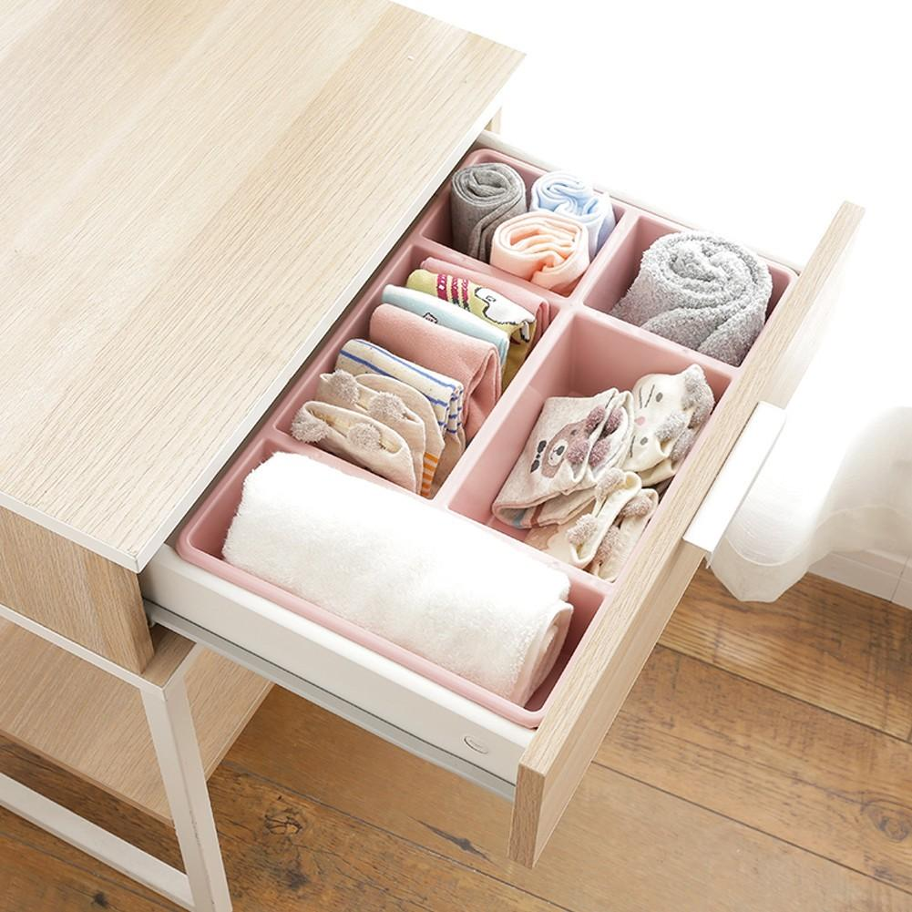 Compartments Desk Table Storage Box Drawer