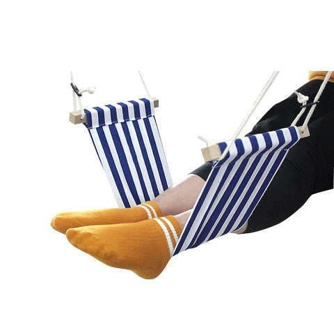 Premium Mesh Portable Travel Airplane Footrest Hammock