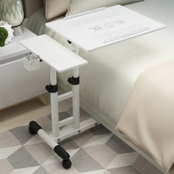 Laptop Stand Rolling Foldable Portable Cart