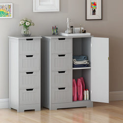 Panana Wood Storage Standing Cabinets