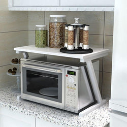 Microwave Oven Double Storage rack