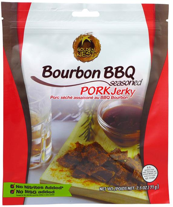 All-Natural Bourbon BBQ Pork Jerky