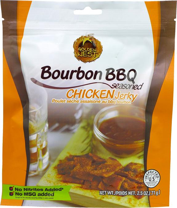 All-Natural Bourbon BBQ Chicken Jerky