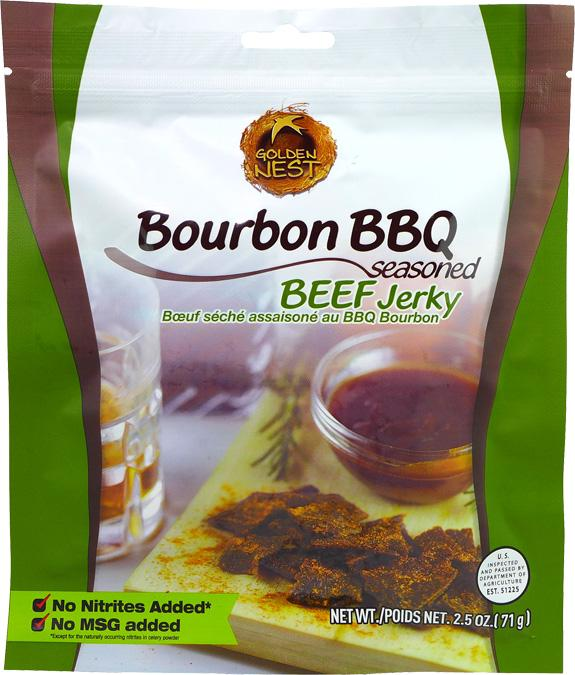 All-Natural Bourbon BBQ Beef Jerky