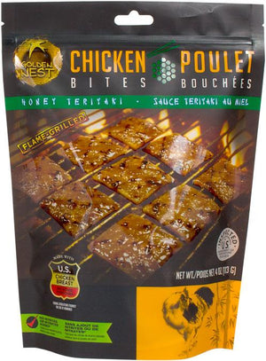 Honey Teriyaki Chicken Jerky Snack Bites