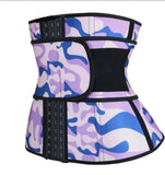 Pink camouflage Hooks Superior Quality Latex Waist Trainers Size XS