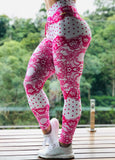 Legging Scrunch Pink Lace.