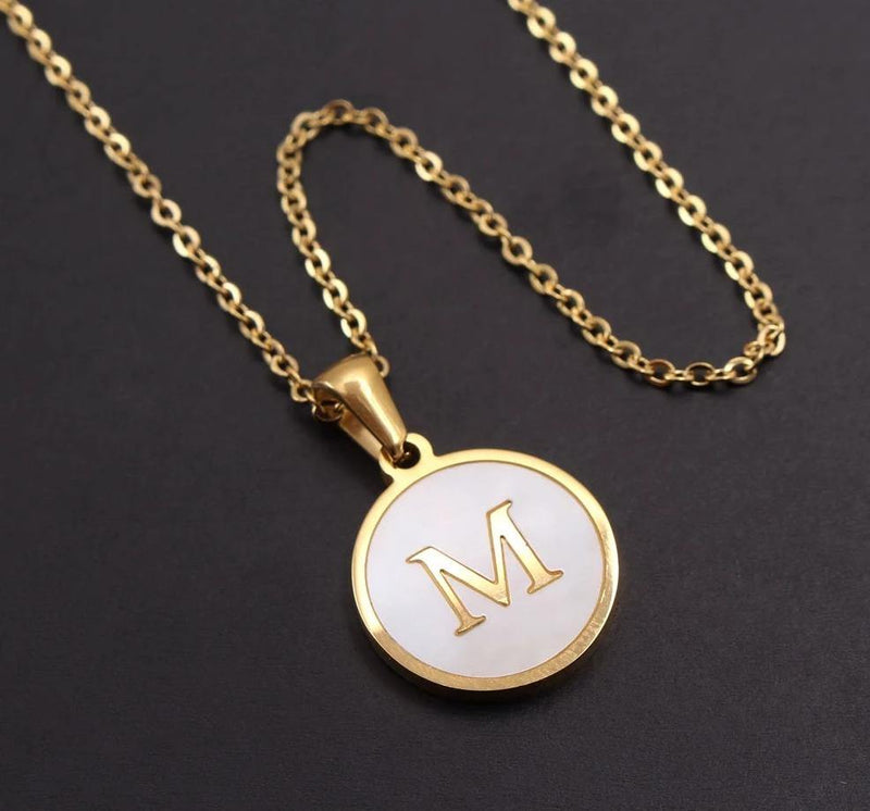 BELLA Initial Necklace - rosetose