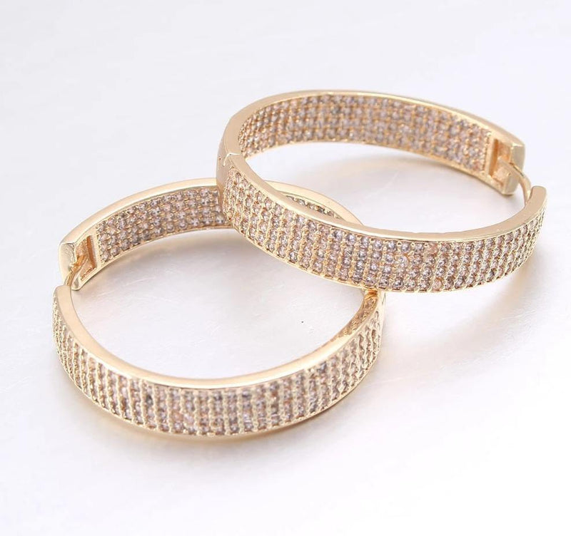 ANNA Hoop Earrings - rosetose