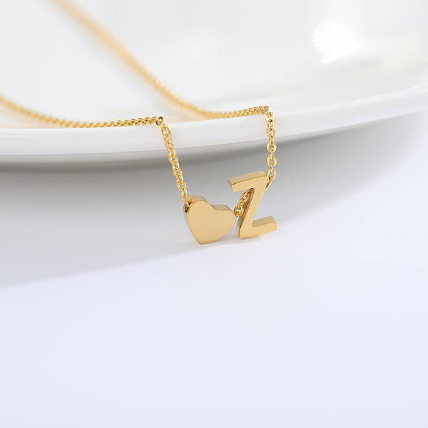 SKYE Initial Necklace - rosetose