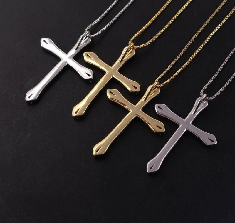 LOVE Cross Necklace - rosetose