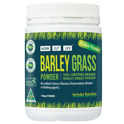 Barley Grass & Spirulina Powder Promotion
