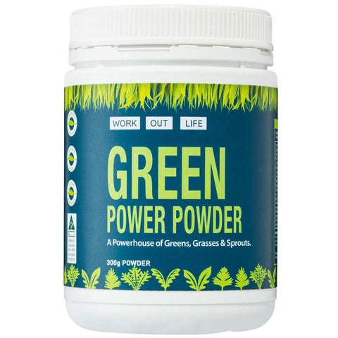 Greens Power Powder Promotion
