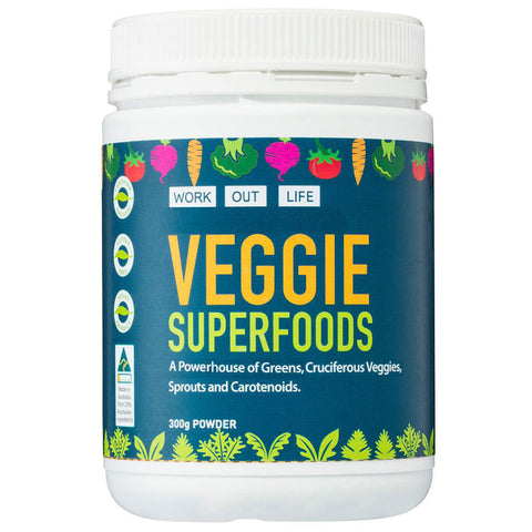Vegge SuperFood Powder Promotion