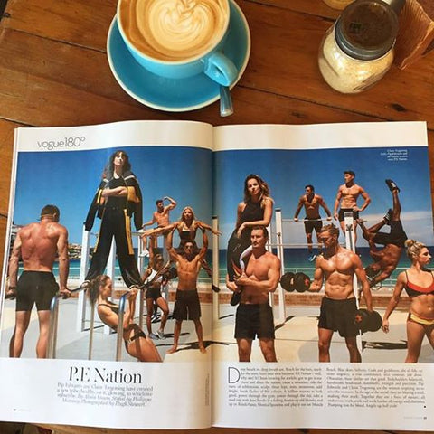 Marcus Bondi in Vogue Australia