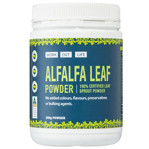 Alfalfa Powder Promotion