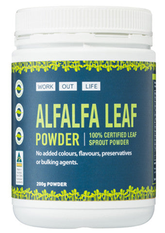 Work Out Life Alfalfa Powder - 200g