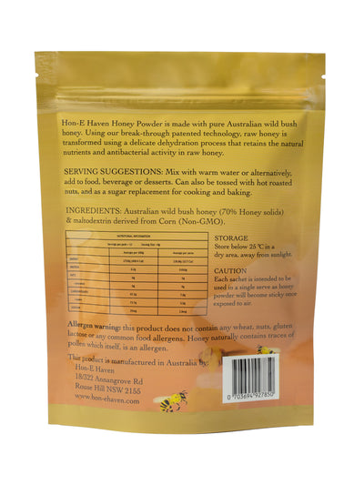 Pure Australian wild bush honey powder