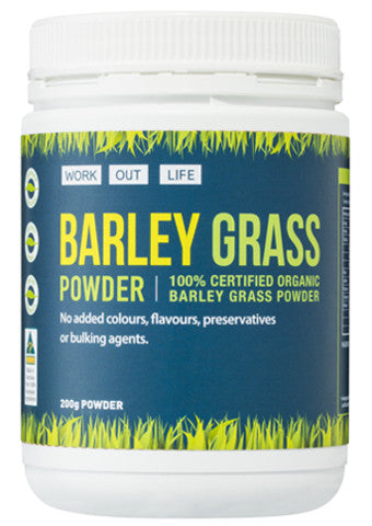 Work Out Life Barley Grass Protein Powder - 200 g