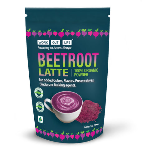 Work Out Life Beetroot Latte Powder