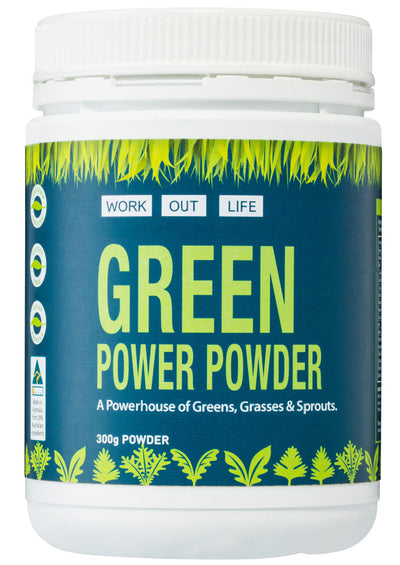 Work Out Life Green Power Powder