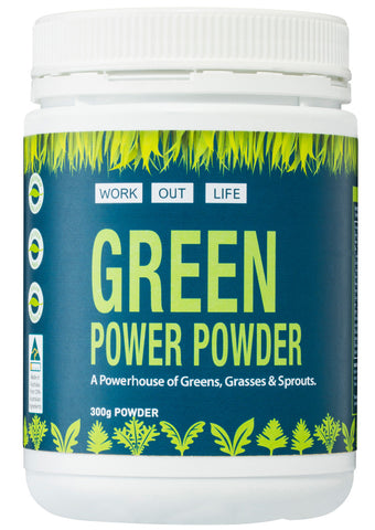 Work Out Life Green Power Powder - 300g