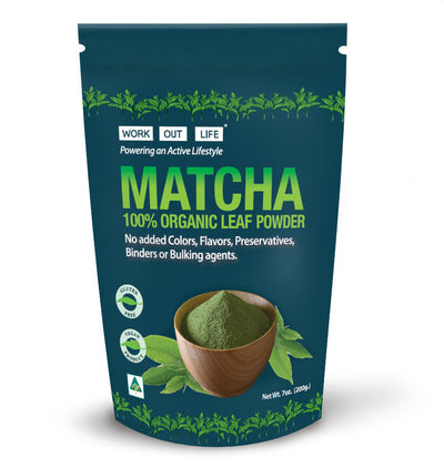 Work Out Life Matcha Leaf Powder