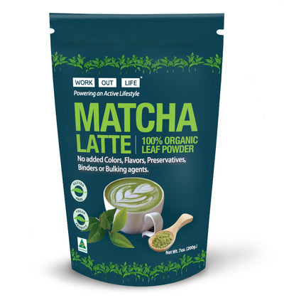 Work Out Life Matcha Latte Powder