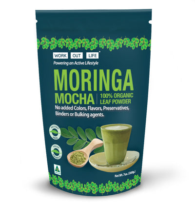 Work Out Life Moringa Mocha