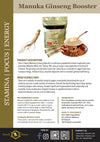 Hon-e Haven Manuka Ginseng Booster