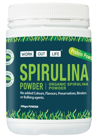 Work Out Life Spirulina Powder - 300g