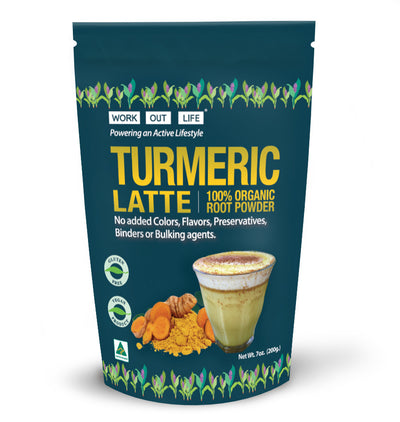 Work Out Life Turmeric Root Latte