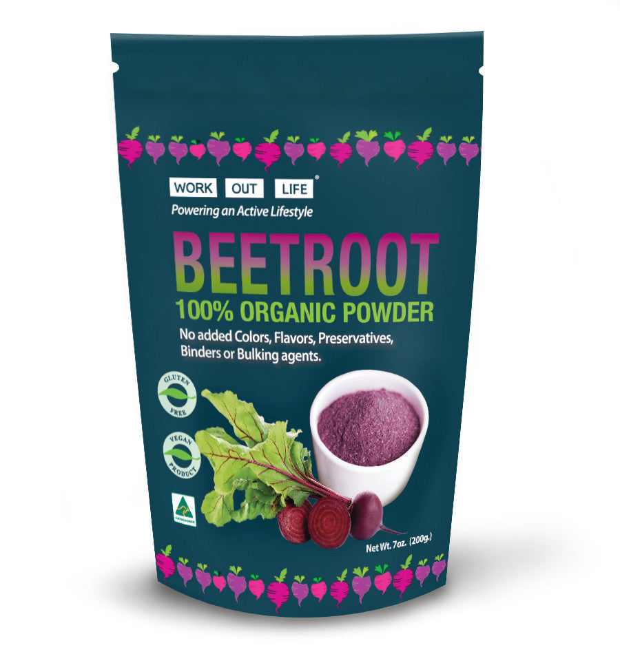 Work Out Life Beetroot Power Powder