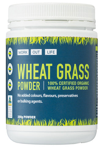 Work Out Life Wheat Grass Protein Powder - 200g