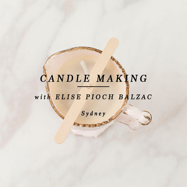 CANDLE MAKING - SYDNEY 20th February 2020